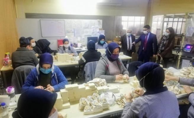 Edremit'ten 42 ülkeye sabun ihracatı