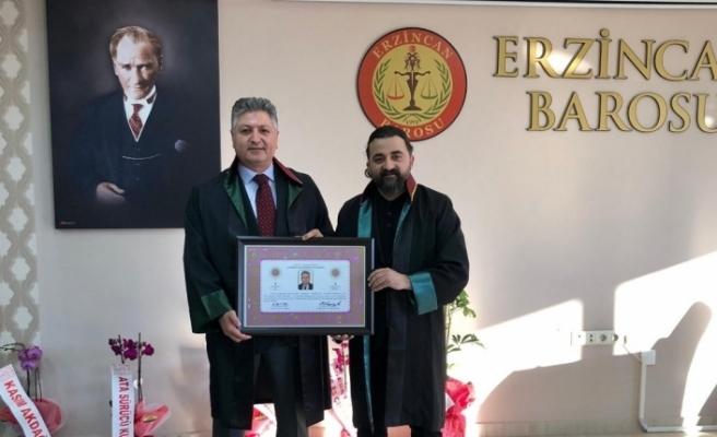 Eğitimci Akdağ, avukat oldu