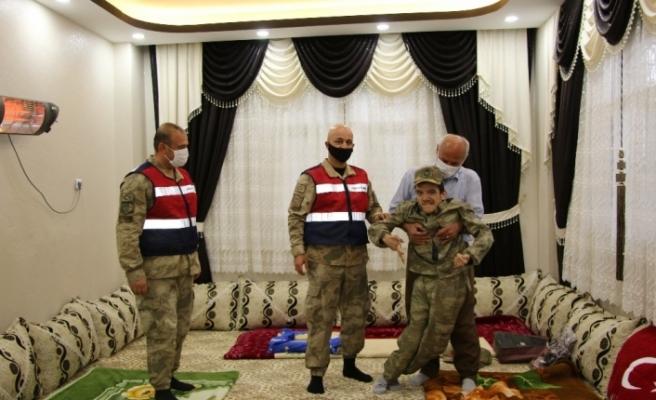 Engelli genç asker olmak istedi, Mehmetçik harekete geçti