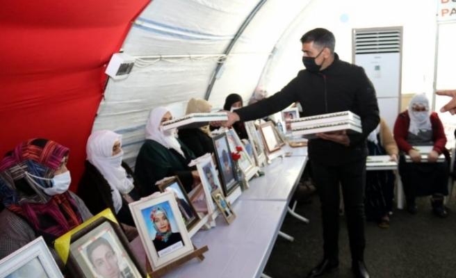 Evlât nöbetine Osmangazi desteği