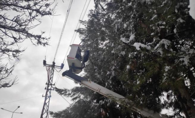 Gaziantep'te kar en çok onları vurdu