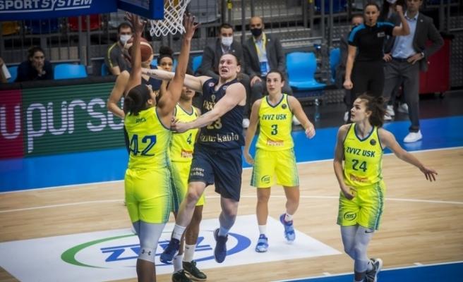 Kadınlar Euroleague: ZVVZ USK Prag: 70 - Fenerbahçe: 99