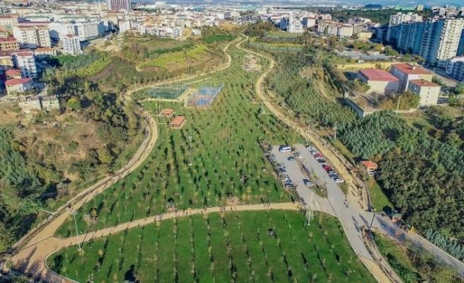 Kocaeli'nde kişi başına düşen yeşil alan miktarı 12,57 metrekare oldu