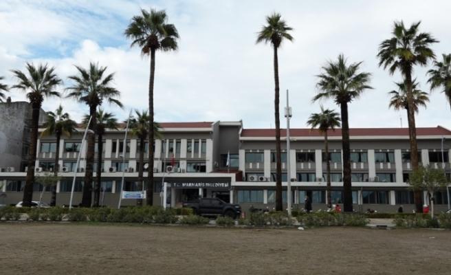 Marmaris Belediyesi hizmet binası boşaltıldı