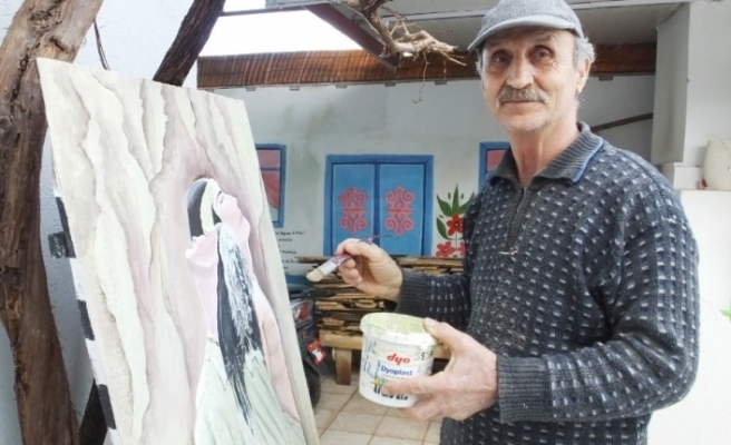 Pandemi emekli çifti ressam yaptı