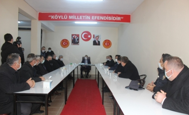 """Vali Karaömeroğlu: """"Köylerimize iki kat daha fazla asfalt yapacağız"""""""