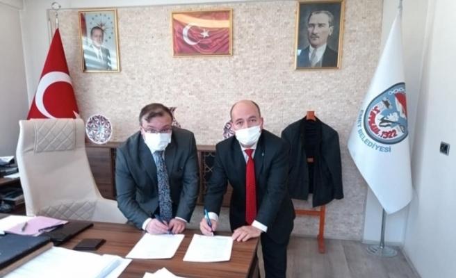 30 kadrolu işçinin sözleşmesi imzalandı