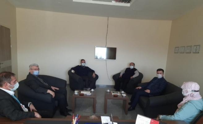 AK Parti Emet İlçe Başkanı Ciner'den hastane ziyareti
