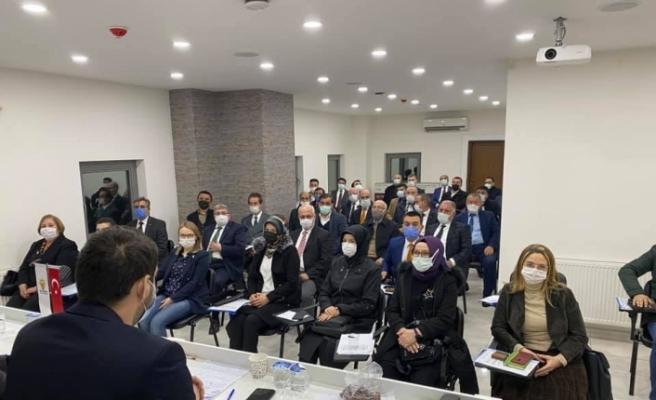 AK Parti il yönetim kurulu toplantısı yapıldı