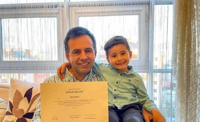 Altındağ'da babalar mezun oldu