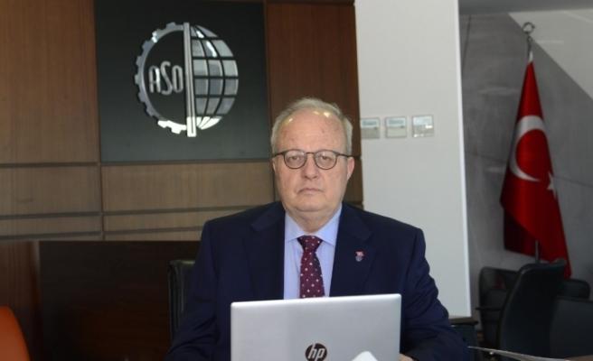 """ASO Başkanı Özdebir: """"Merkez Bankası'nın reel sektörün korunacağı bir para politikasına ağırlık vermesi gereklidir"""""""