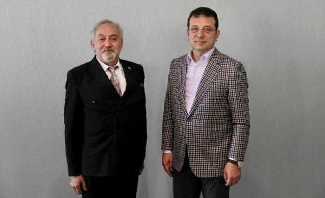 Başkan Binzet, İmamoğlu'yla bir araya geldi