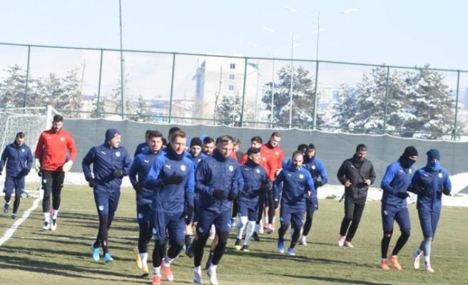 BB Erzurumspor Galatasaray maç hazırlıklarını sürdürdü