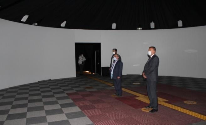 Dijital Gösterim Merkezi Son Teknolojiyle Yapılan İçerikleri vatandaşa sunuyor