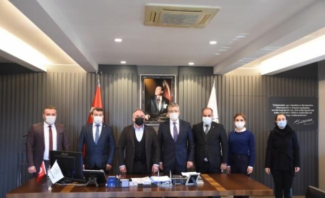 Edremit Belediye Başkanı Arslan, Başkan Öndeş ile görüştü