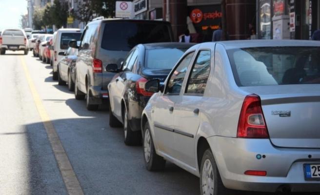 Erzincan'da trafiğe kayıtlı araç sayısı Ocak ayı sonu itibarıyla 61 bin 671 oldu