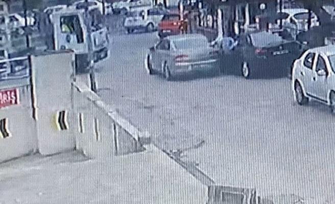 Esenyurt'ta polisle hırsız arasında filmleri aratmayacak kovalamaca kamerada