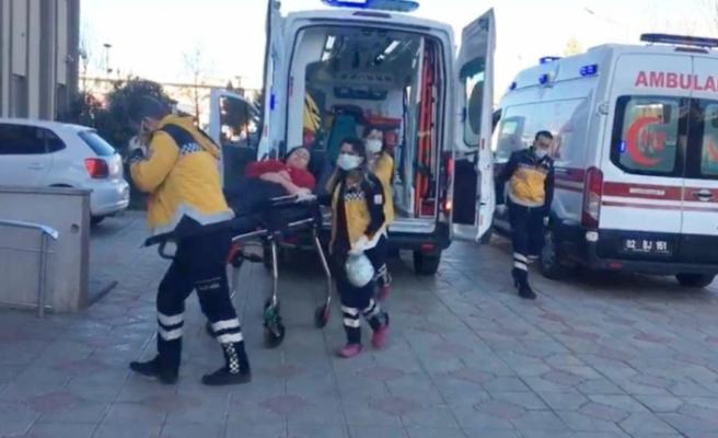 Kahta'da 3 kişi karbonmonoksit gazından zehirlendi