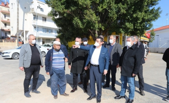 Kepez Belediye Başkanı Tütüncü, taksici esnafı ile buluştu