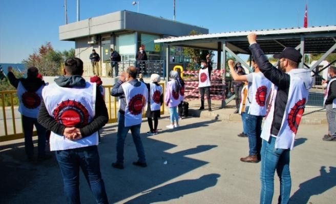 Migros işçileri 50 gündür haklarını aramak için depo önünde direniyor