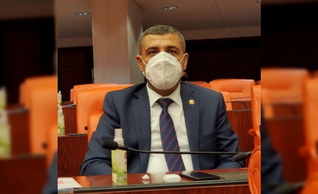 Milletvekili Ali Muhittin Taşdoğan, Gaziantep'in spor salonu sorununu meclise taşıdı