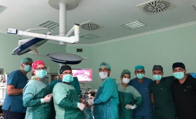 Nevşehir'de ilk kez kapalı tüp mide ameliyatı yapıldı
