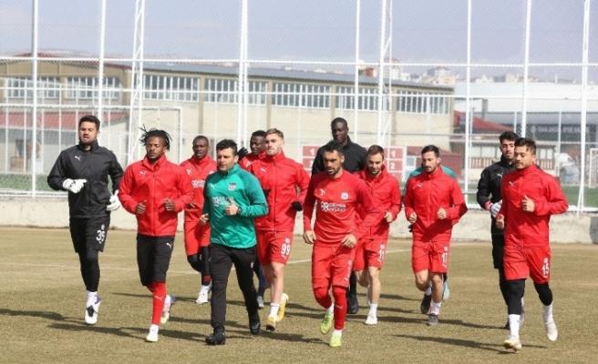 Sivasspor'da Hatayspor mesaisi başladı