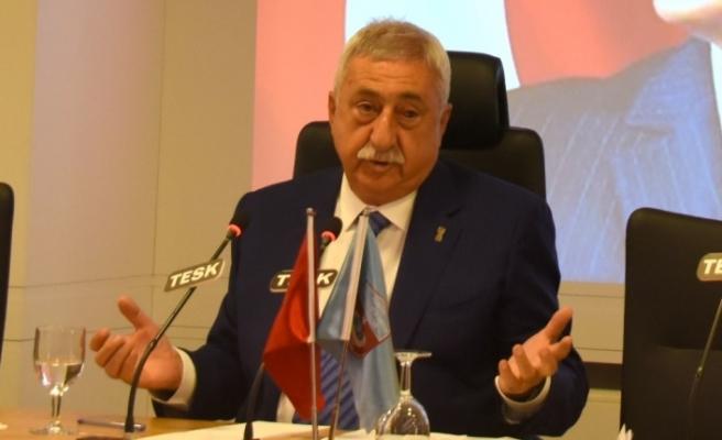 """TESK Genel Başkanı Palandöken: """"Yapılandırma taksitleri en az 6 ay ertelenmeli"""""""