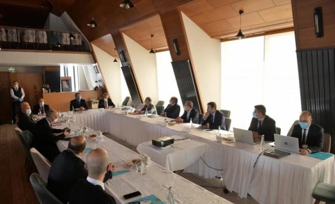 Vali Epcim ile Başkan Pekmezci, KUDAKA'nın 132. toplantısına katıldı