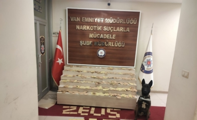 Van'da 22 kilo 780 gram eroin ele geçirildi