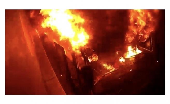 İstanbul'da 'Tinerci Ümit' lakaplı suç makinesi bu kez mobilya dükkanını ateşe verdi