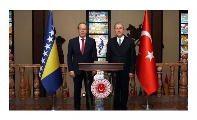 Türkiye-Bosna Hersek arasında Askeri Mali İşbirliği Anlaşması