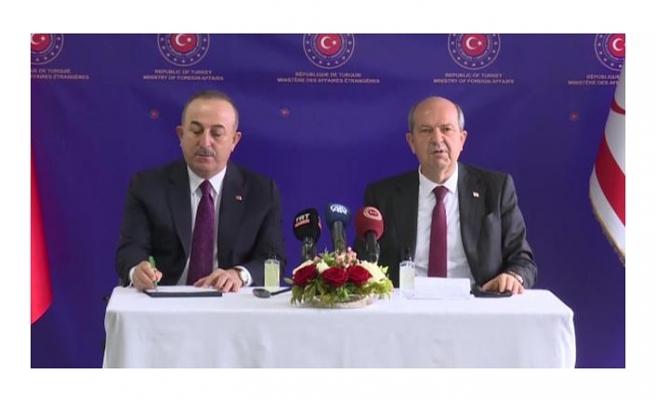 Bakan Çavuşoğlu: Rum lider toplantıya yeni bir vizyon getiremedi