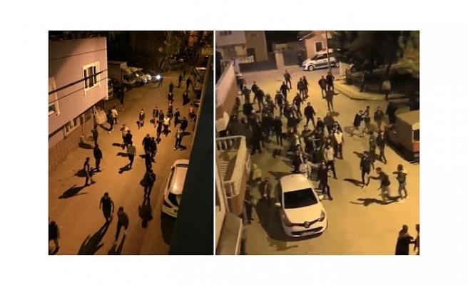 Bursa'da aileler arasında çıkan kavgada 15 kişiye kısıtlama ihlali cezası