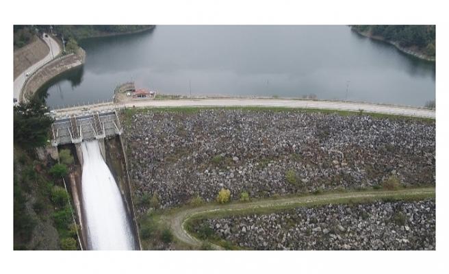 Bursa'da Doğancı Barajı da su salmaya başladı