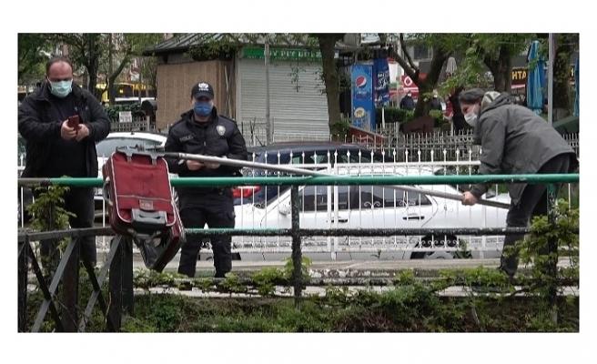 Bursa'da kırmızı valiz bomba paniğine neden oldu