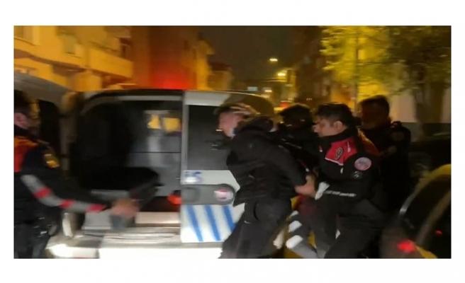 Bursa'da nefes kesen kovalamaca kamerada