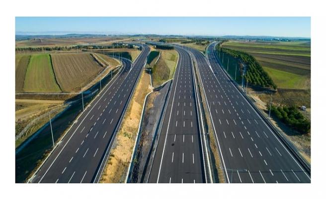Karayolları bu yıl 361 kilometre bölünmüş yol yapacak