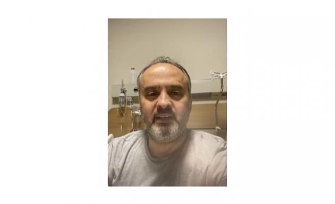 Koronavirüse yakalanan Büyükşehir Belediye Başkanı Alinur Aktaş, hastane odasından Bursalılara seslendi
