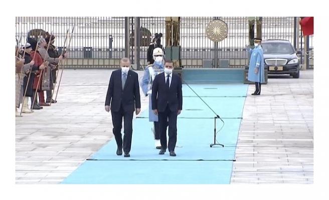 Libya Milli Birlik Hükümeti Başbakanı Dibeybe Türkiye'de