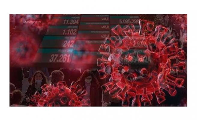 Koronavirüs salgınında can kaybı 44 bin 301'e yükseldi
