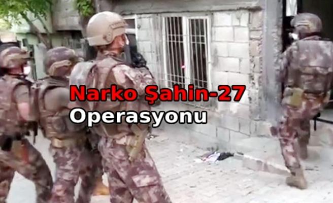 657 polisle uyuşturucu operasyonunda 24 gözaltı