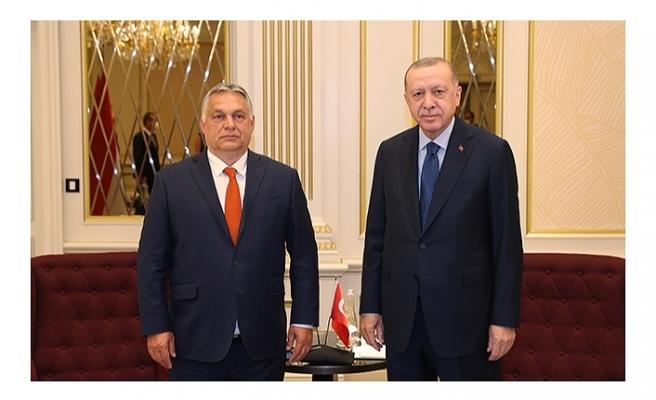 Cumhurbaşkanı Erdoğan, Macaristan Başbakanı ile görüştü