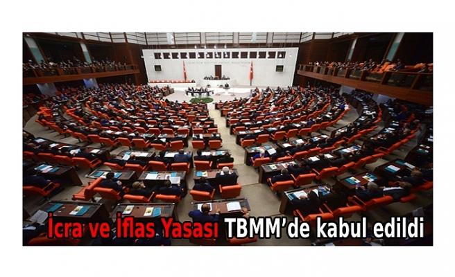 İcra ve İflas Yasası TBMM'de kabul edildi