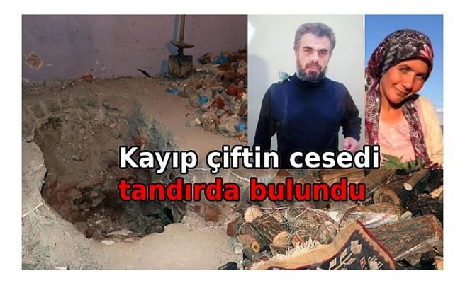 Kayseri'de kayıp olarak aranan çift, tandıra gömülmüş halde bulundu