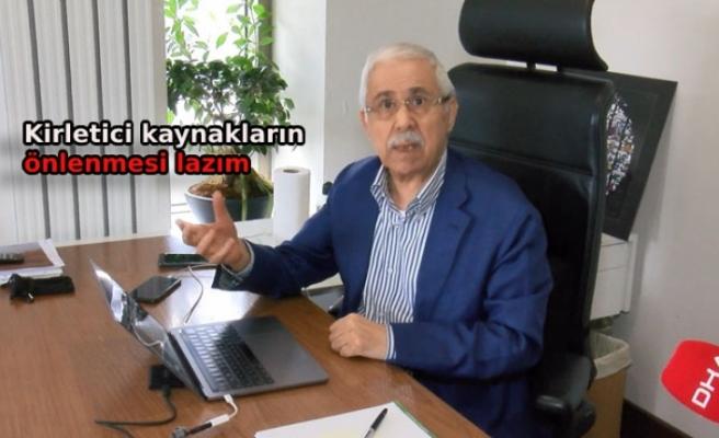 Prof. Dr. Öztürk: Haliç'i temizledik ama Marmara'yı temizleyemezsiniz