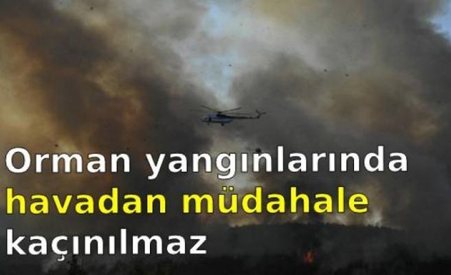 Cerrahpaşa Orman Fakültesi öğretim üyelerinden yangın raporu: Orman yangınlarında havadan müdahale kaçınılmaz