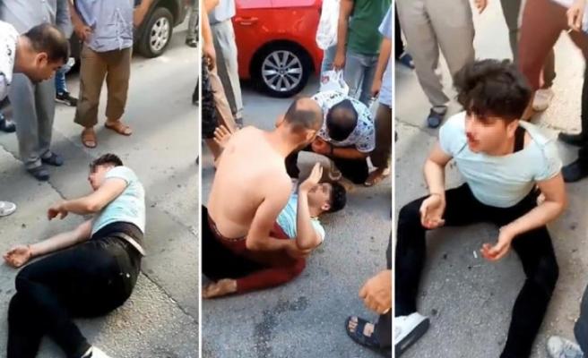 Kızların uygunsuz fotoğraflarını çektiği iddiasıyla linç girişiminde bulunuldu