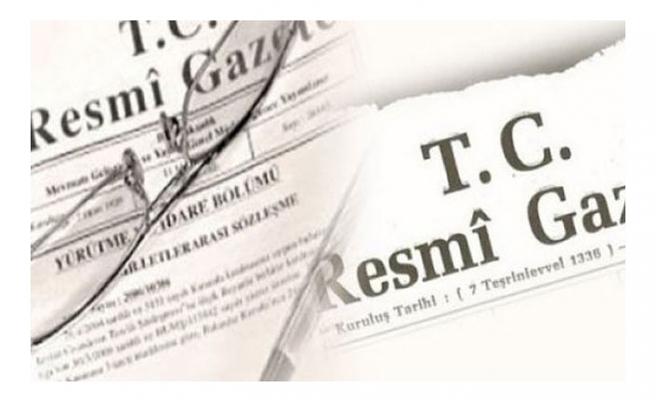 Resmi Gazete'de yayımlanan kararla 33 ile yeni emniyet müdürü atandı