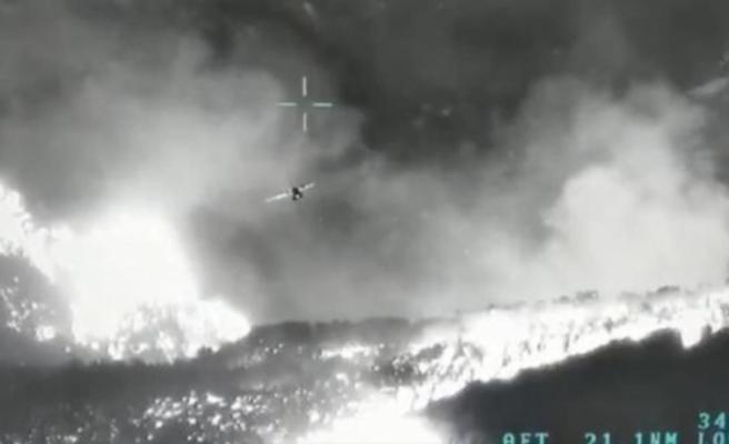 Orman yangınlarıyla mücadeleye insansız hava aracı desteği